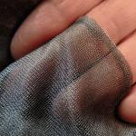 Abschirmstoff Aaronia Shield Transparenz und Beschaffenheit #2